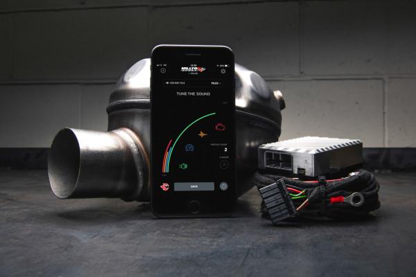 Milltek SSXAU766 Active Sound Control - Audi Q7 3.0 TDi quattro (2006 - 2015)
