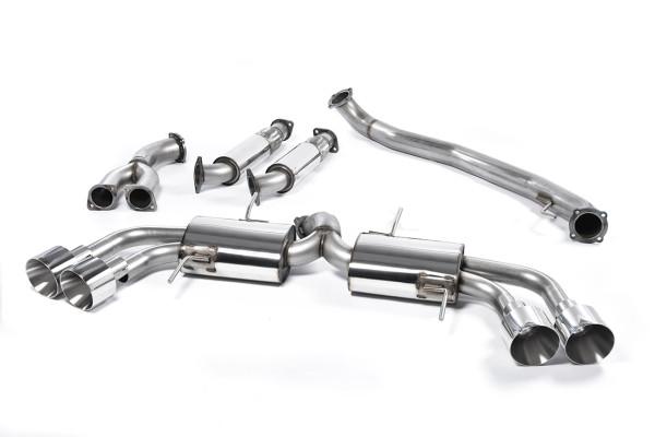 Milltek SSXNI010 Primary Cat-back Quad 127mm GT127 - Nissan GT-R R35 (2009 - 2015)