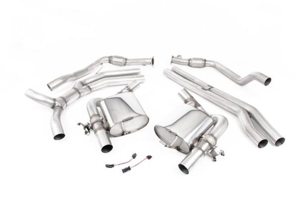 Milltek SSXAU804 Cat-back - Audi RS4 B9 2.9 V6 Turbo Avant (Non OPF/GPF Models) (2018 - 2022)