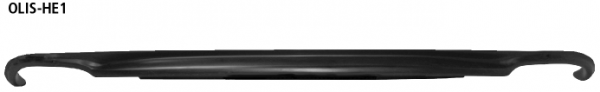 Bastuck OLIS-HE1 Opel Insignia A Insignia Limousine 2WD Benziner ESD LH+RH Heckschürzen-Einsatz, für