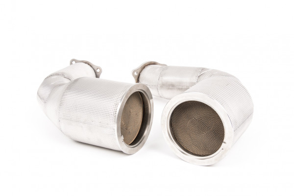 Milltek SSXAU815 Large-bore Downpipes - Audi RS5 B9 2.9 V6 Turbo Sportback (Non-OPF/GPF Models) (20