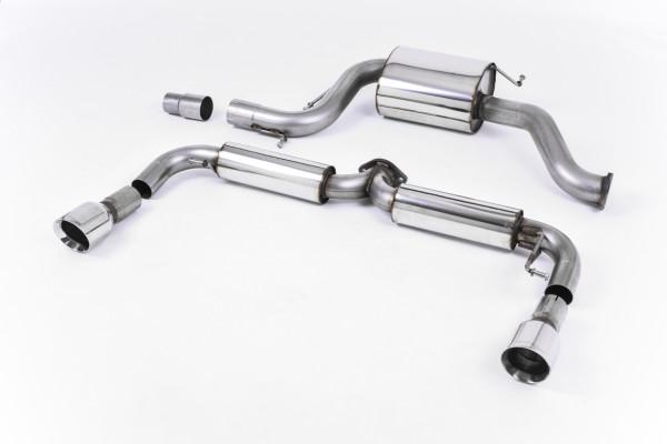 Milltek SSXVW176 Cat-back - Volkswagen Golf Mk6 GTi Edition 35 (2011 - 2012)