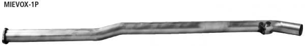 Bastuck MIEVOX-1P Mitsubishi Lancer Lancer Evo X Ersatzrohr für Vorschalldämpfer (Dieser Artikel ist