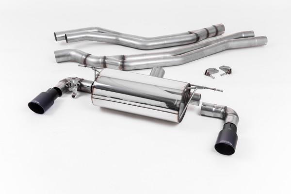 Milltek SSXBM1047 Cat-back Twin 90mm GT90 - BMW 1 Series M140i 3 & 5 Door (F20 & F21 LCI - Non-OPF m