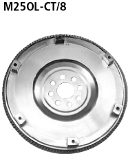 Bastuck M25OL-CT/8 Opel Astra G Astra G Coupé Turbo Leichte Stahlschwungscheibe inkl. Zahnkranz 8-Lo