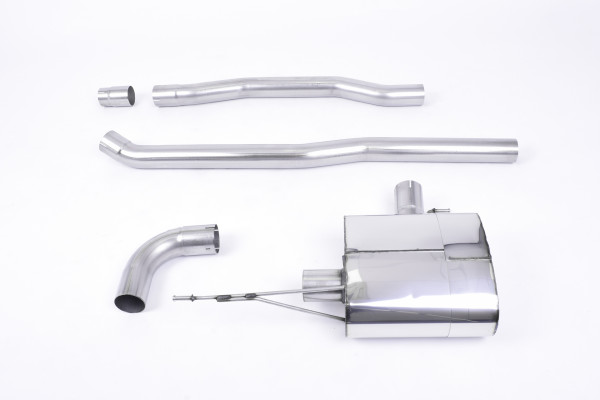 Milltek SSXM434 Cat-back 100mm GT-100 - New Mini Mk3 (F56) Cooper 1.5T (Pre-Facelift model only) (20
