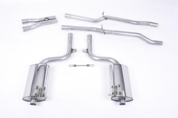 Milltek SSXAU038 Cat-back 100mm Jet - Audi S4 4.2 V8 quattro B6 Saloon/Sedan' Avant' & Cabriolet (20
