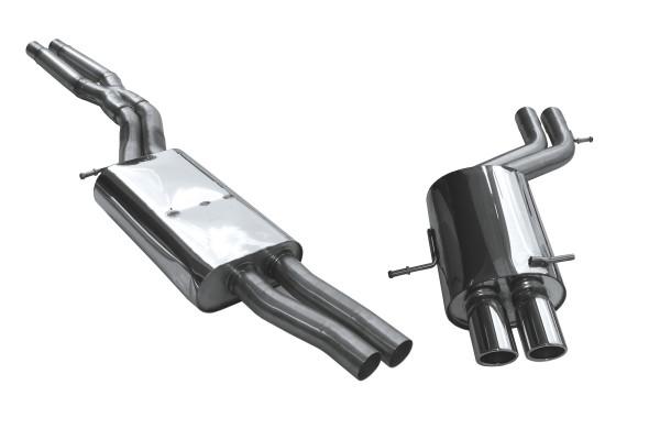 BN-Pipes Sportauspuffanlage Audi S4 - Typ B5 2x60mm