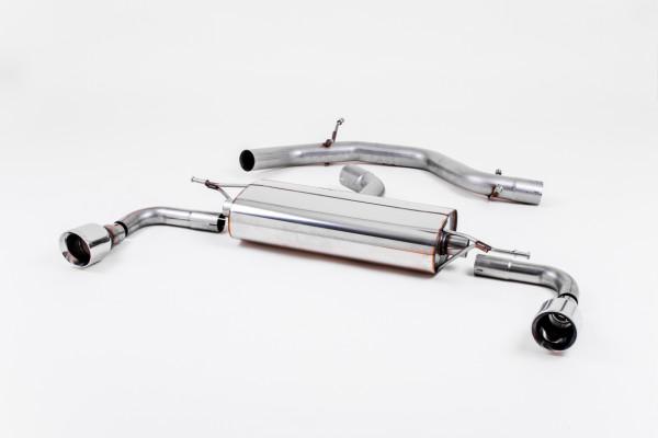 Milltek SSXVW113 Cat-back Dual 100mm GT100 - Volkswagen Golf Mk6 GTi 2.0 TSI 210PS (2009 - 2013)