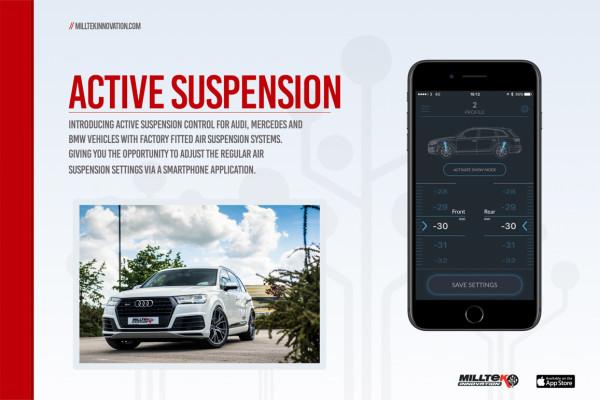Milltek SSXAU669 Active Suspension Control - Audi Q7 3.0TDI (218 & 272PS) 4M (2016 - 2022)