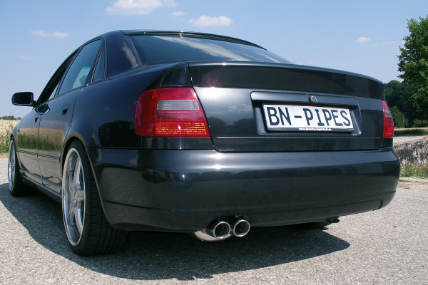 BN-Pipes Sportauspuffanlage Audi S4 - Typ B5 1x76mm