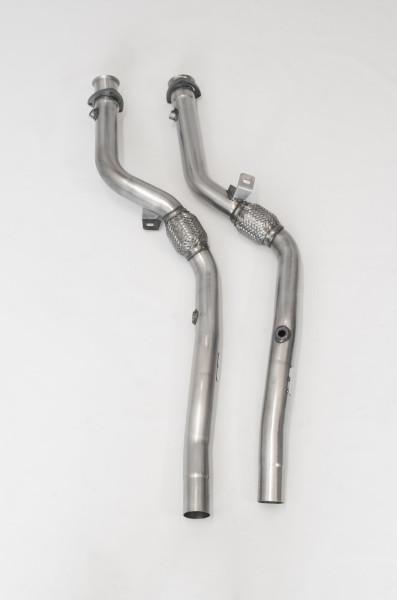 Milltek SSXAU289 Cat Replacement Pipes - Audi S4 4.2 V8 quattro B6 Saloon/Sedan' Avant' & Cabriolet