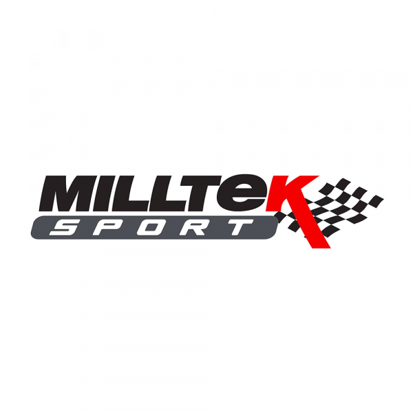 Milltek SSXAU744 Large Bore Downpipe and Hi-Flow Sports Cat - Audi A4 2.0 TFSI B9 Quattro Saloon &
