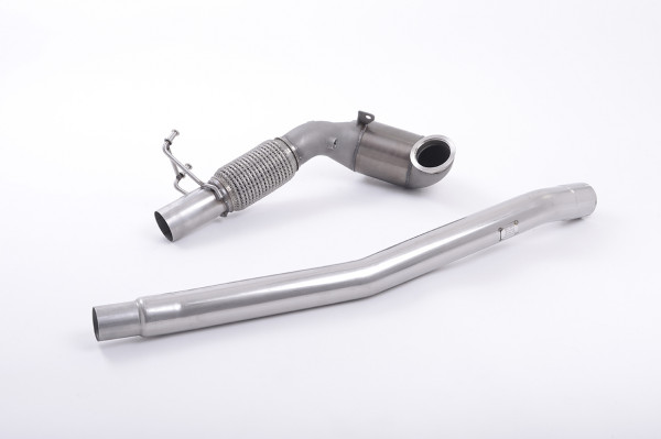 Milltek SSXAU605 Cast Downpipe with Race Cat - Audi TT Mk3 TTS 2.0TFSI Quattro (2015 - 2021)