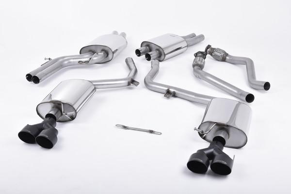 Milltek SSXAU412 Cat-back GT100B GT100B - Audi S5 3.0 TFSI B8.5 Coupé & Cabriolet (2011 - 2021)