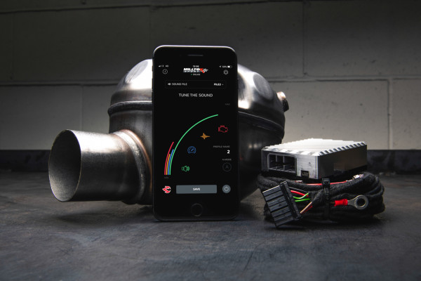 Milltek SSXAU765 Active Sound Control - Audi Q7 3.0 TDi quattro (2006 - 2015)