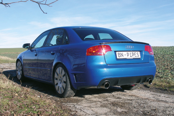 BN-Pipes Sportauspuffanlage Audi A4 - Typ B7 - DTM Edition