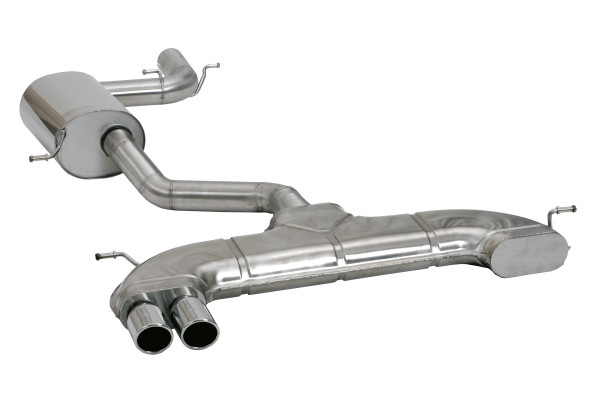 BN-Pipes Sportauspuffanlage VW Eos - Typ 1F