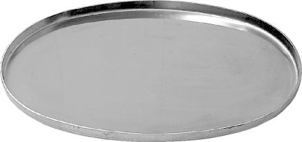 Bastuck EP-132x79 Universal Deckel Enddeckel + Innendeckel oval für Schalldämpfer Deckel oval, Brei