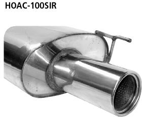 Bastuck HOAC-100SIR Honda Accord ab Bj. 2002 Accord 1 ESD 2.0l Benziner nicht Kombi Endschalldämpfer