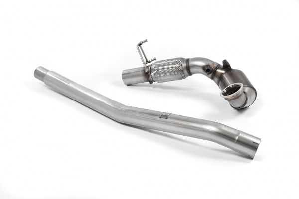 Milltek SSXVW350 Large Bore Downpipe and Hi-Flow Sports Cat - Audi S3 2.0 TFSI quattro Saloon & Cab