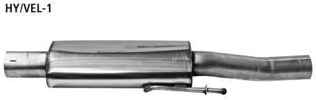 Bastuck HY/VEL-1 Hyundai Veloster Veloster 1.6l Vorschalldämpfer