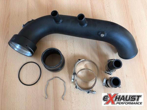 EXH BMW N54 135i 335i Ladedruckrohr / Charge Pipe Abverkauf
