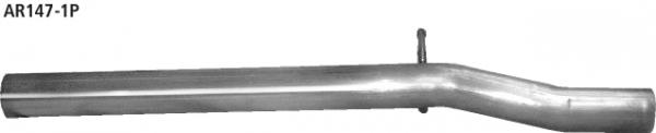 Bastuck AR147-1P Alfa Romeo 147 147 1.9l JTD (85 KW) Ersatzrohr für Vorschalldämpfer, Dieser Artikel