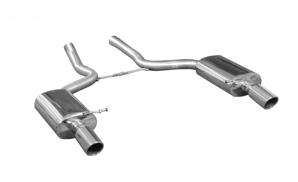BN-Pipes Audi A4 Endschalldämpfer - Typ B6 (Benzin)