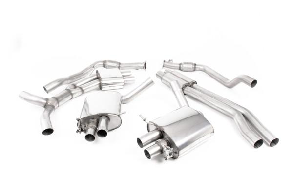 Milltek SSXAU842 Cat-back - Audi RS5 B9 2.9 V6 Turbo Coupe (OPF/GPF Models) (Pre-facelift Only) (20