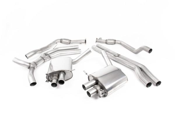 Milltek SSXAU808 Cat-back - Audi RS4 B9 2.9 V6 Turbo Avant (Non OPF/GPF Models) (2018 - 2021)