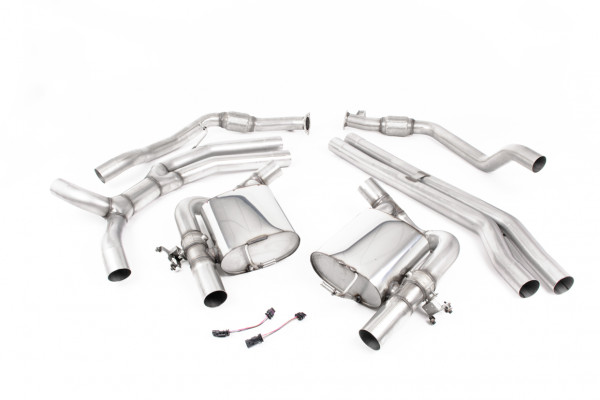 Milltek SSXAU849 Cat-back - Audi RS5 B9 2.9 V6 Turbo Coupe (OPF/GPF Models) (Pre-facelift Only) (20