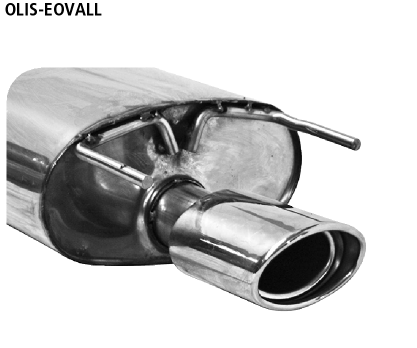 Bastuck OLIS-EOVALL Opel Insignia A Insignia Kombi 2WD Benziner ESD LH Endschalldämpfer mit Einfach-