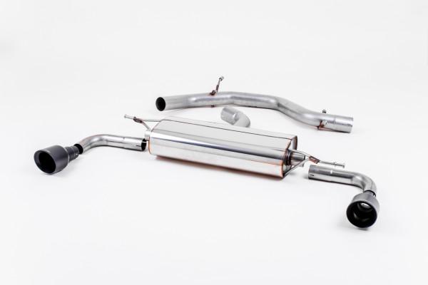 Milltek SSXVW183 Cat-back Dual 100mm GT100 - Volkswagen Golf Mk6 GTi 2.0 TSI 210PS (2009 - 2013)