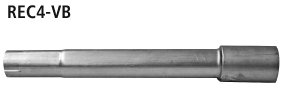 Bastuck REC4-VB Renault Clio 4 Clio 4 1.2l Benziner Verbindungsrohr (nur für 1.2l Benziner)