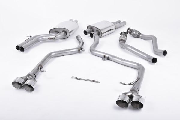 Milltek SSXAU409 Cat-back GT100 GT100 - Audi S5 3.0 TFSI B8.5 Coupé & Cabriolet (2011 - 2021)