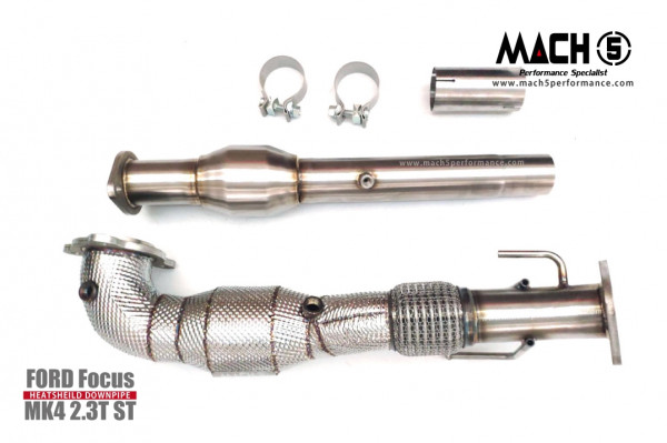 Mach5 Downpipe Ford Focus MK4 ST Catless