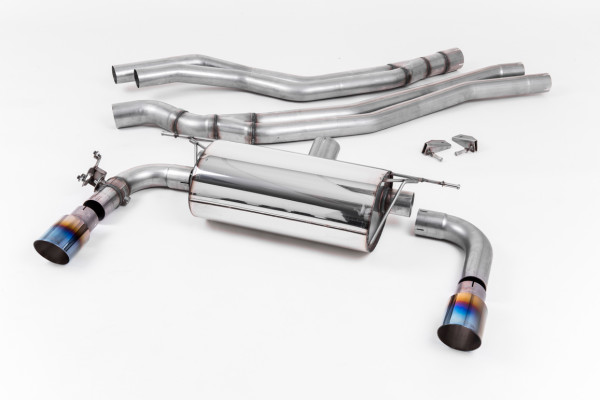 Milltek SSXBM1059 Cat-back 90.00 GT - BMW 2 Series M240i Coupe (F22 LCI- Non-OPF equipped models onl