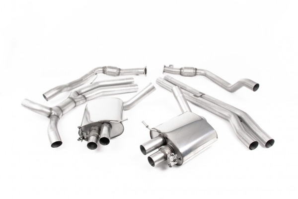 Milltek SSXAU826 Cat-back - Audi RS4 B9 2.9 V6 Turbo Avant (OPF/GPF Models) (Pre-facelift Only) (20